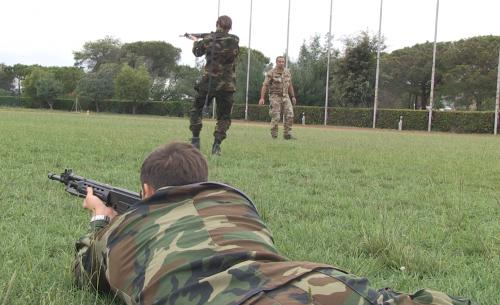 L'esercitazione combat e le prove di volo 14