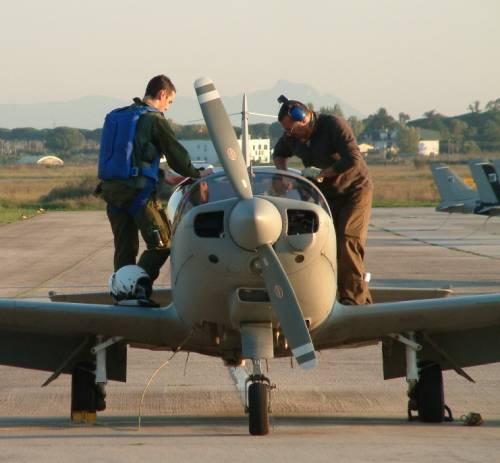 L'esercitazione combat e le prove di volo 2