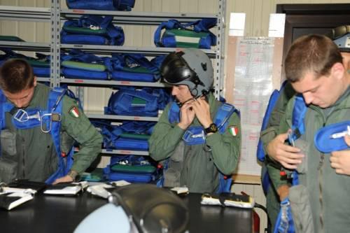 L'esercitazione combat e le prove di volo 19