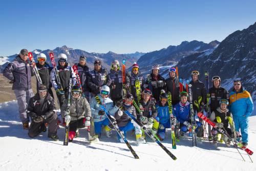 World Racing Academy, sulla Grawand slalomisti in pista