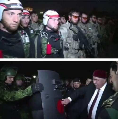 L'incontro tra Kadyrov e il vicepresidente dell'Afghanistan 4