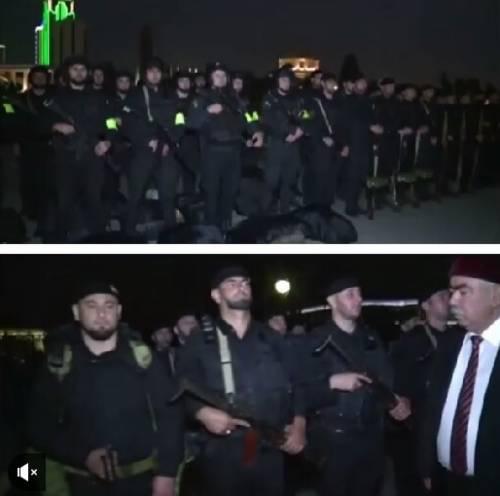 L'incontro tra Kadyrov e il vicepresidente dell'Afghanistan 3