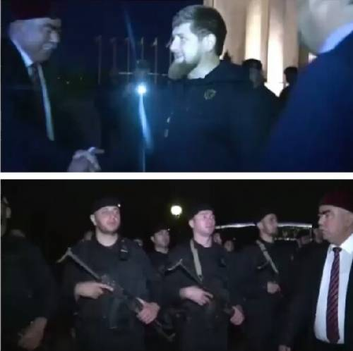 L'incontro tra Kadyrov e il vicepresidente dell'Afghanistan 2