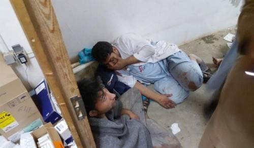 Colpito l'ospedale di Medici senza frontiere 6