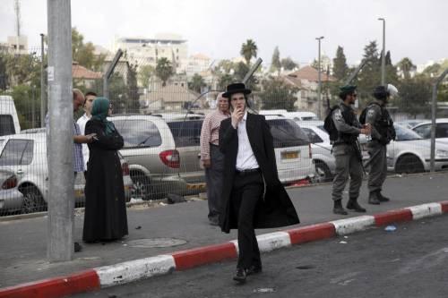 Due persone accoltellate a Gerusalemme 1