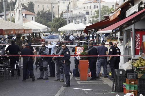 Due persone accoltellate a Gerusalemme 4