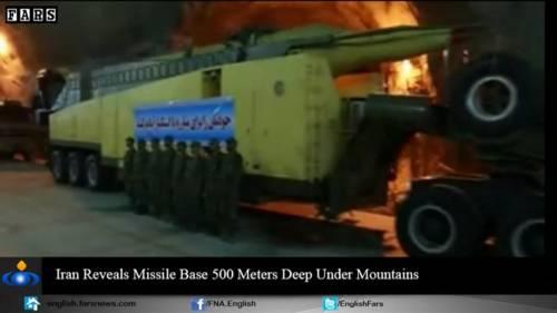 Nel video iraniano le basi missilistiche sotto terra 12