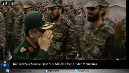 Nel video iraniano le basi missilistiche sotto terra 10