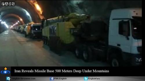 Nel video iraniano le basi missilistiche sotto terra 11