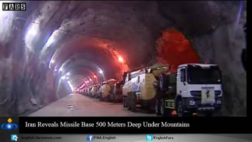 Nel video iraniano le basi missilistiche sotto terra 13