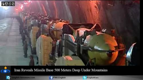 Nel video iraniano le basi missilistiche sotto terra 14