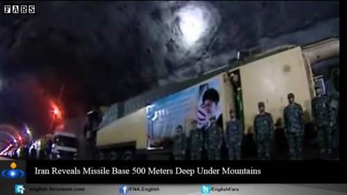 Nel video iraniano le basi missilistiche sotto terra 15