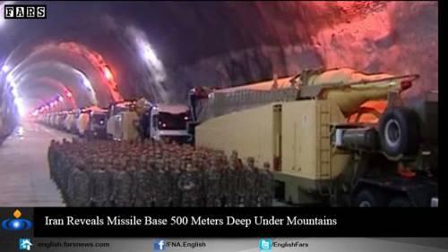 Nel video iraniano le basi missilistiche sotto terra 16