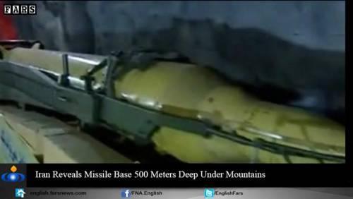 Nel video iraniano le basi missilistiche sotto terra 3