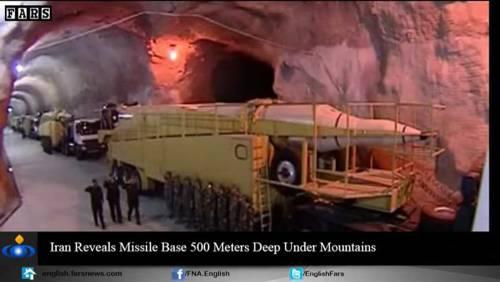 Nel video iraniano le basi missilistiche sotto terra 9