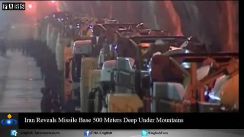 Nel video iraniano le basi missilistiche sotto terra 2