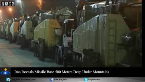 Nel video iraniano le basi missilistiche sotto terra 4