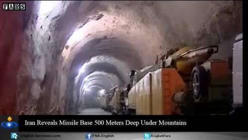 Nel video iraniano le basi missilistiche sotto terra