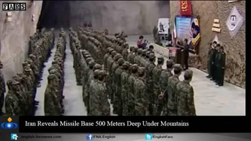 Nel video iraniano le basi missilistiche sotto terra 7