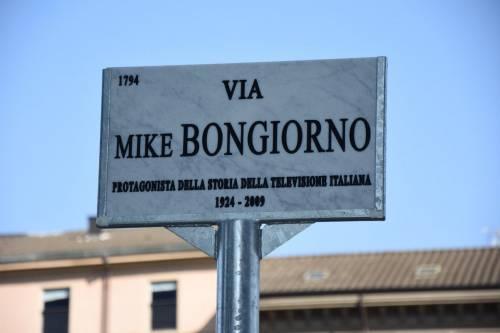 Inaugurata a Milano via Mike Bongiorno, nel quartiere dei grattacieli