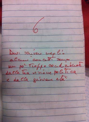 """""""Tema troppo clericale"""", e la prof gli abbassa il voto"""