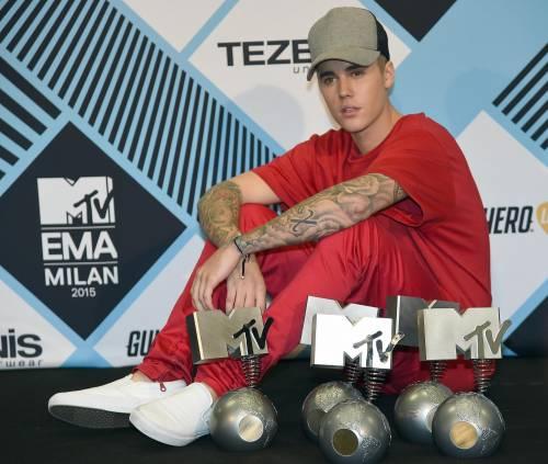 MTV EMA 2015, red carpet stellare a Milano 7