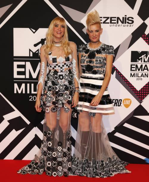 MTV EMA 2015, red carpet stellare a Milano 10