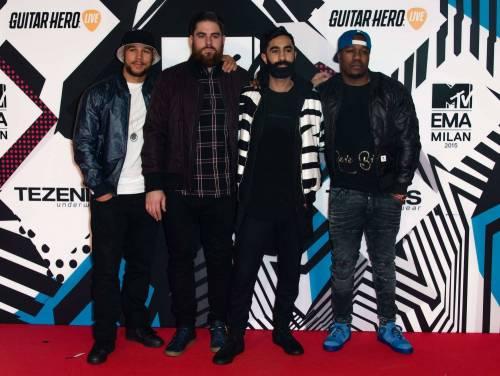 MTV EMA 2015, red carpet stellare a Milano 30