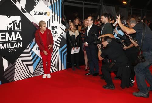 MTV EMA 2015, red carpet stellare a Milano 34