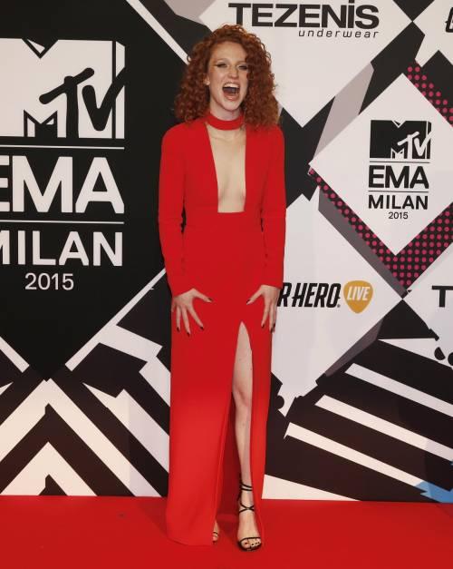 MTV EMA 2015, red carpet stellare a Milano 36