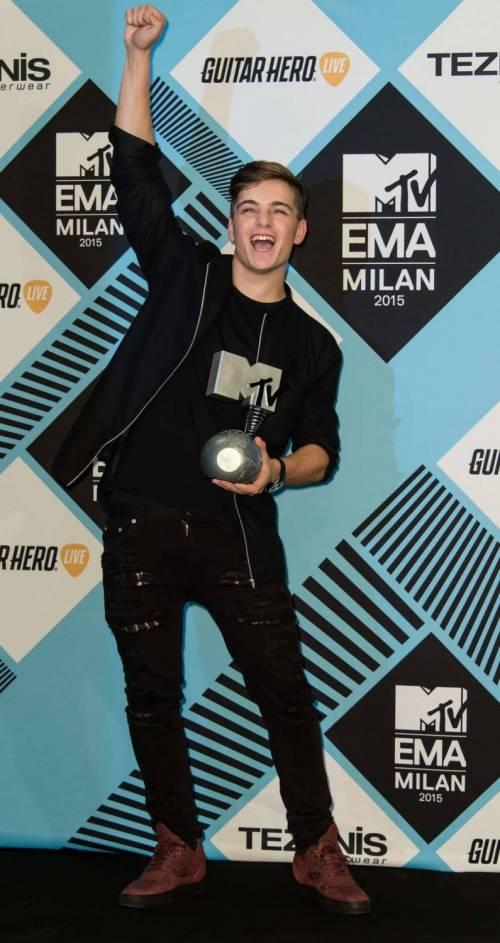 MTV EMA 2015, red carpet stellare a Milano 57