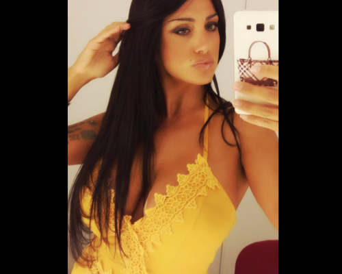 Marika Fruscio nuda e procace su Twitter 57