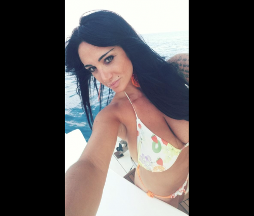 Marika Fruscio nuda e procace su Twitter 64
