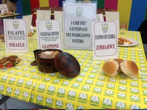 Coldiretti difende la carne made in Italy: panino da record con salumi italiani