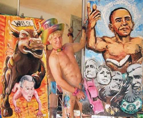 Pricasso, l'artista che disegna con il pene - Galleria - ambersun.lt