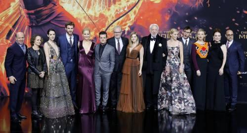 Hunger Games: protagoniste senza reggiseno a Berlino 23