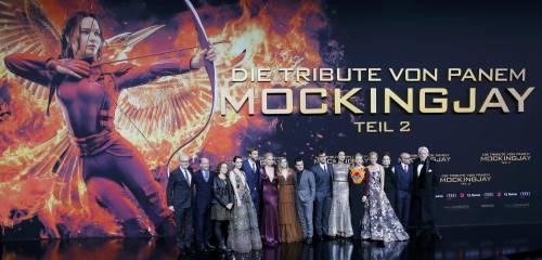 Hunger Games: protagoniste senza reggiseno a Berlino 25