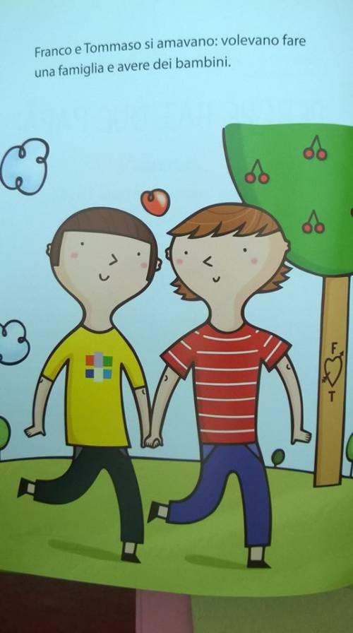 "Tutte le favole gender: ""Famiglia felice con due papà"" 3"