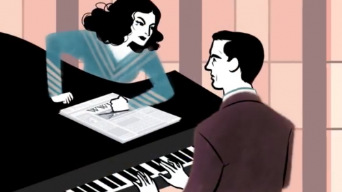 Hedy Lamarr, le foto e il doodle 24