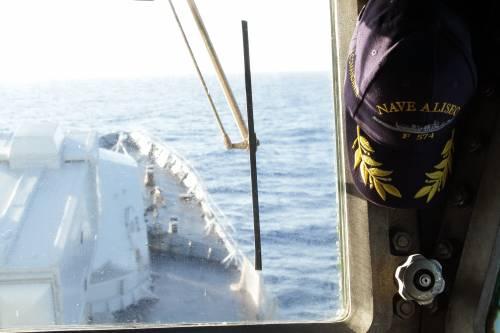 A bordo della fregata Aliseo 4