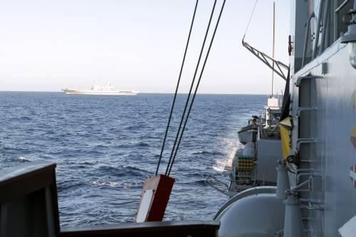 A bordo della fregata Aliseo 6