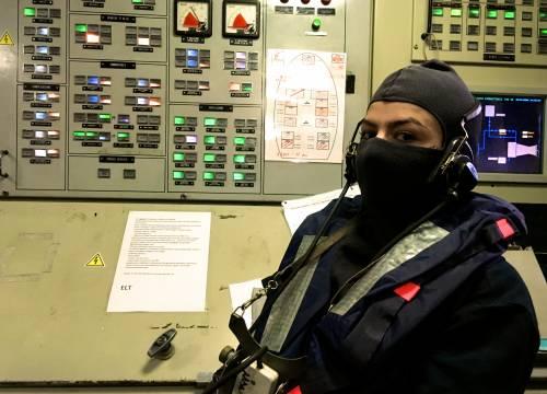 La Fregata Aliseo si addestra 15