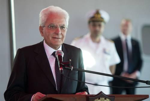 """Mattarella: """"Salvare i migranti è un dovere morale"""""""