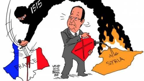 L'ironia araba sulla Francia ferita 2