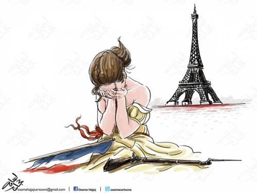 L'ironia araba sulla Francia ferita 1