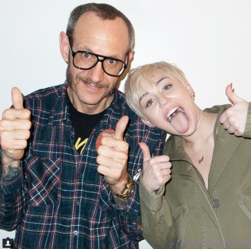 Miley Cyrus nuda per Terry Richardson 9