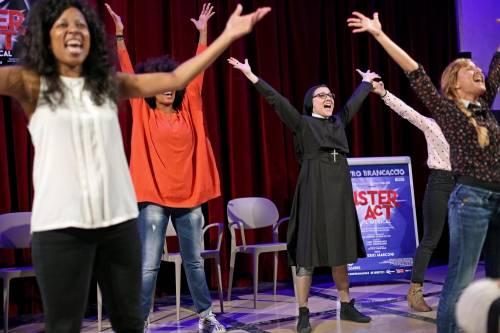Sister Act, il musical con suor Cristina 3