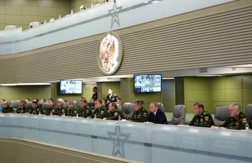 La war room di Putin 3