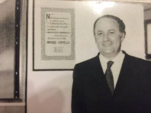 Una via dedicata ad Arrigo Castelli, l'inventore del magnetofono