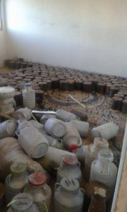 L'arsenale dell'Isis a Sinjar 4